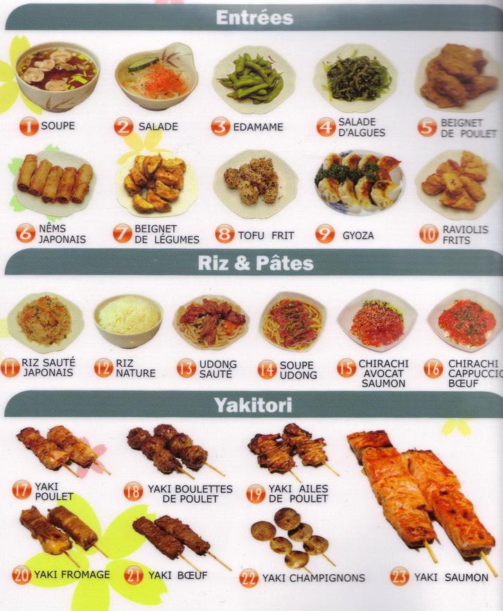 buffet japonais a volonte paris